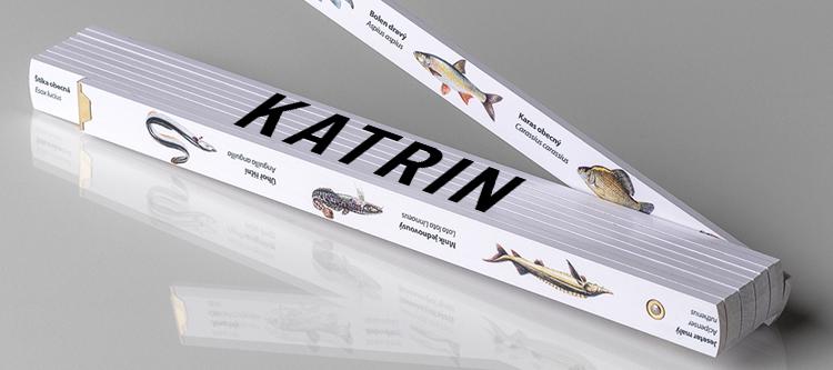 Namenstagsgeschenk für Frauen: Meter-Zollstock mit Namen