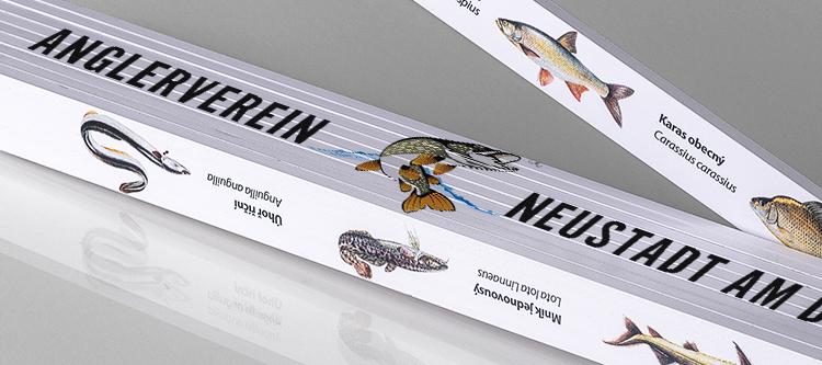 Ein Zollstock – das ideale Geschenk für Angler